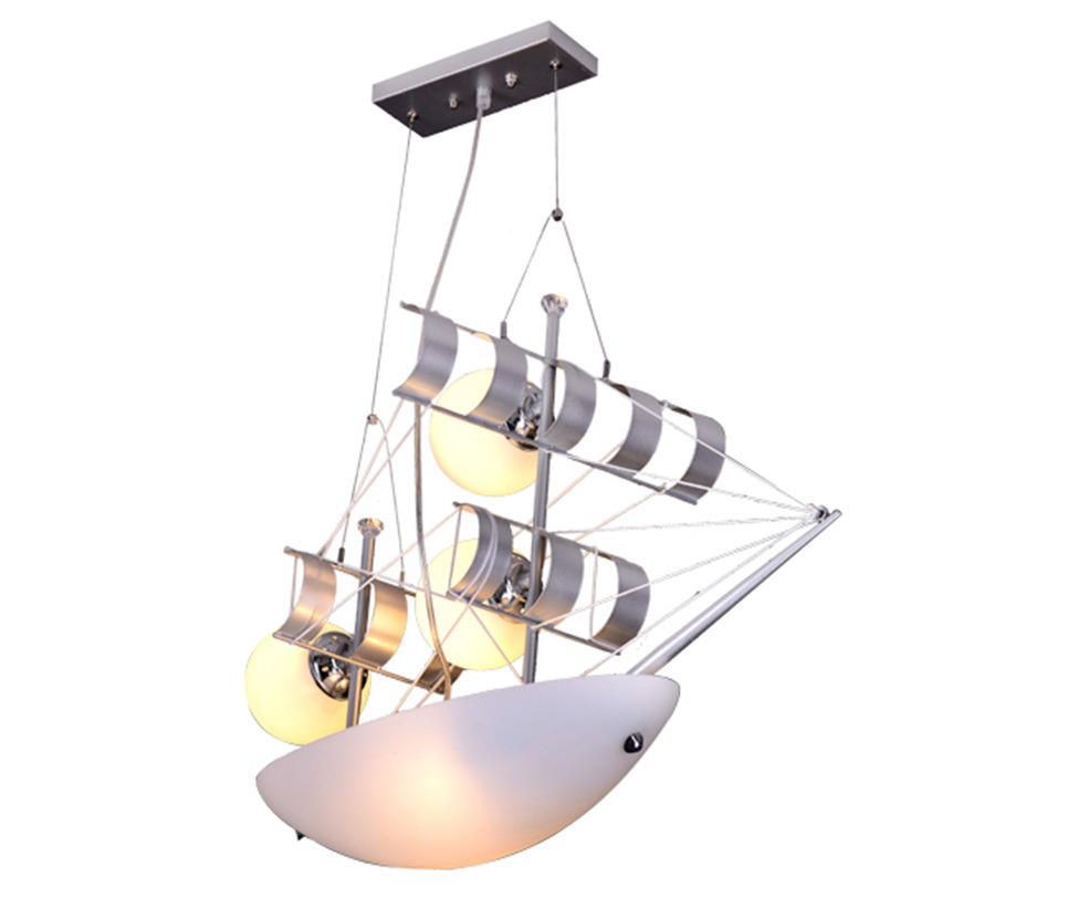 Подвесной светильник ЯхтаПодвесные светильники<br>Количество ламп: 5<br>Размер цоколя: Е27<br>Мощность: 40W<br>С пультом ДУ<br><br>Material: Пластик<br>Length см: 57.0<br>Width см: 30.0<br>Depth см: None<br>Height см: 80.0<br>Diameter см: None