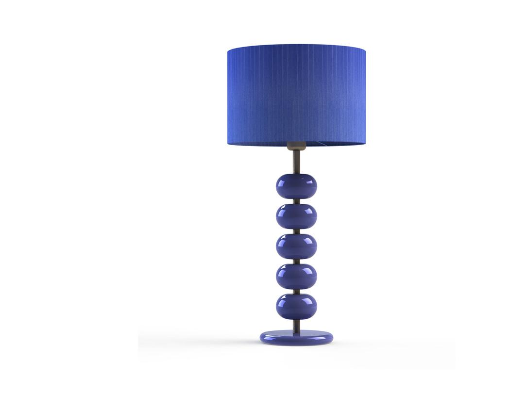 Настольная лампа Terra violetДекоративные лампы<br>Материал: абажур — металлический каркас, лента органза; арматура — дерево, сталь нержавеющая.<br>Цоколь:1хЕ27<br>Мощность: мах КЛЛ 20 w, 220 в, шнур с выключателем.<br>Цвет: фиолетовый<br>Срок изготовления: 2-3 недели<br><br>Material: Дерево<br>Length см: 30.0<br>Width см: 30.0<br>Depth см: 30.0<br>Height см: 64.0<br>Diameter см: 30.0