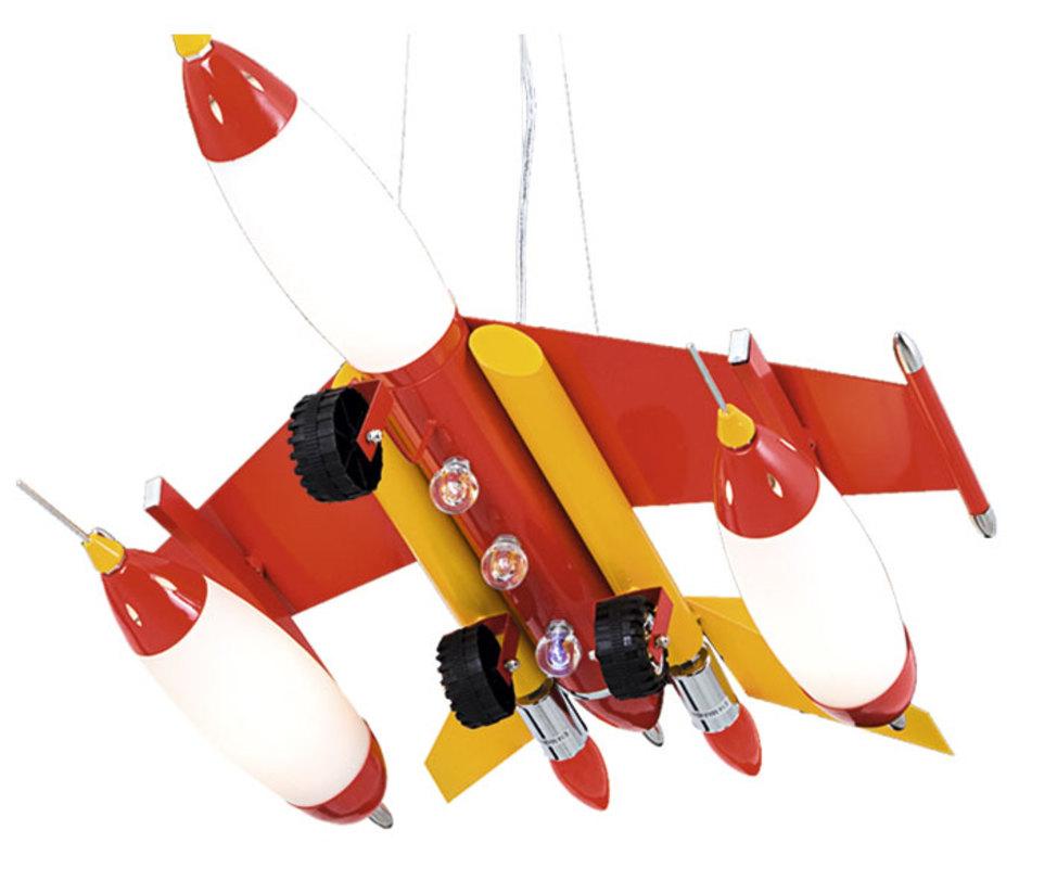 Подвесной светильник ШтурмовикПодвесные светильники<br>Типы ламп: Е14 3*40w<br>Цвет: красный<br><br>Material: Металл<br>Ширина см: 50<br>Высота см: 90