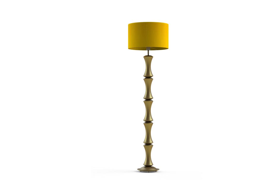 Торшер Bamboo goldТоршеры<br>Материал: абажур — металлический каркас, лента органза; арматура — дерево, сталь нержавеющая.<br>Цоколь:1хЕ27<br>Мощность: мах КЛЛ 20 w, 220 в, шнур с выключателем.<br>Цвет: золотой<br><br>Срок изготовления: 2-3 недели<br><br>Material: Дерево<br>Length см: 40.0<br>Width см: 40.0<br>Depth см: 40.0<br>Height см: 140.0<br>Diameter см: 40.0