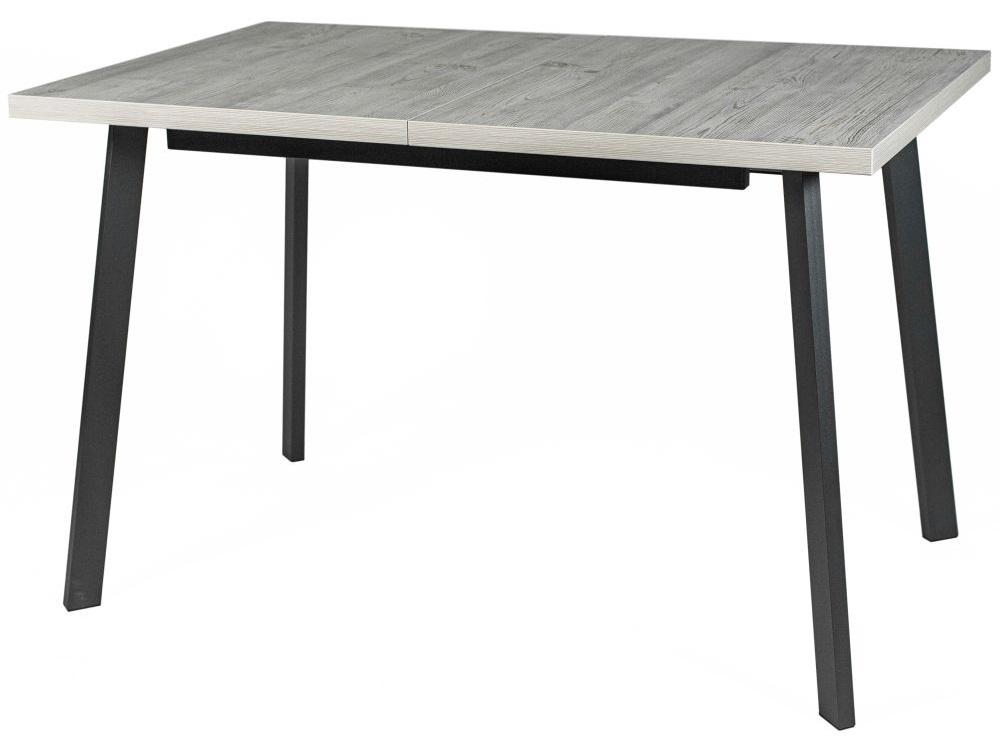 Стол «каспер» (древпром) серый 120x75x75 см.