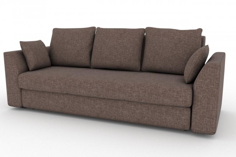 Диван belfest strong-4 (fenya) коричневый 90x93x97 см.