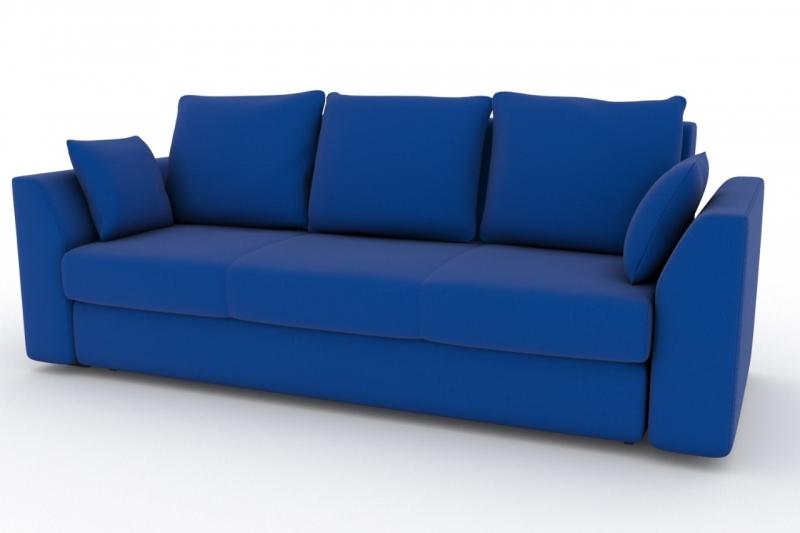 Диван belfest cabrio-24 (fenya) синий 90x93x97 см.