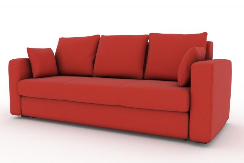 Диван liverpool cabrio-20 (fenya) красный 90x93x97 см.
