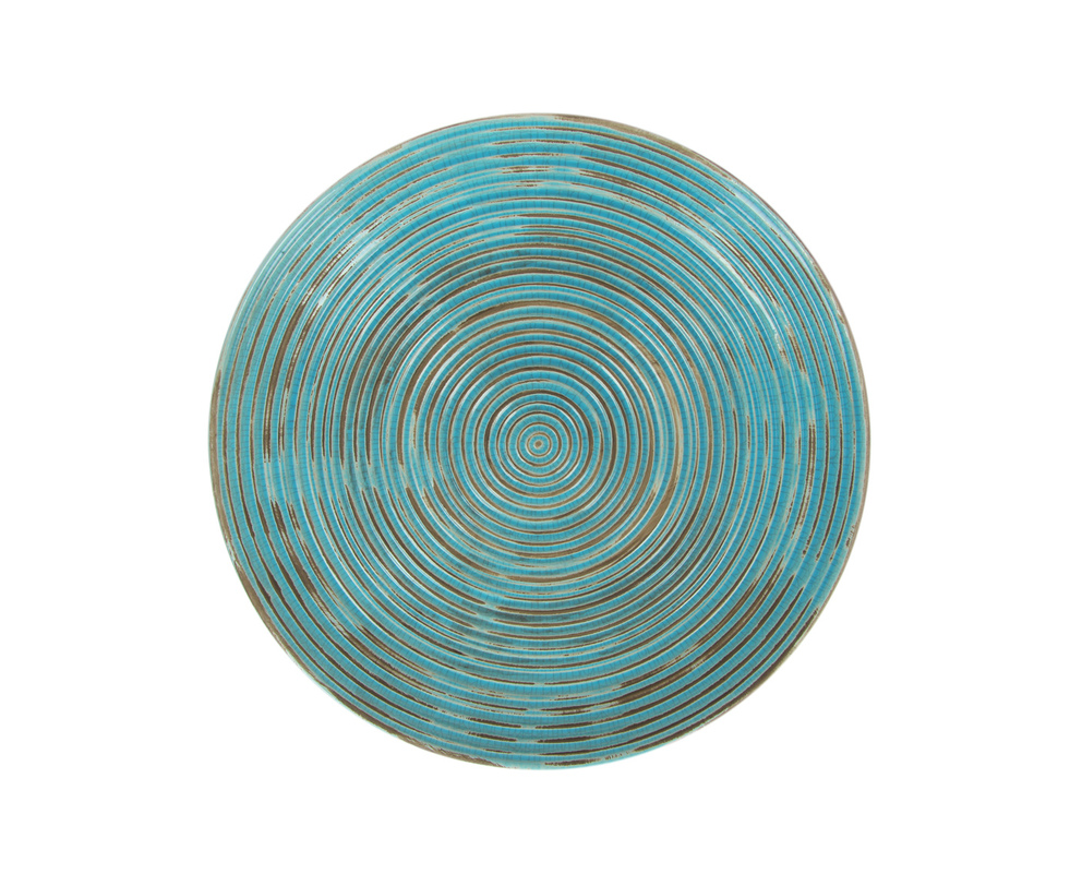 Декоративная тарелкаДекоративные тарелки<br><br><br>Material: Керамика<br>Length см: 40<br>Width см: None<br>Depth см: None<br>Height см: 6<br>Diameter см: None
