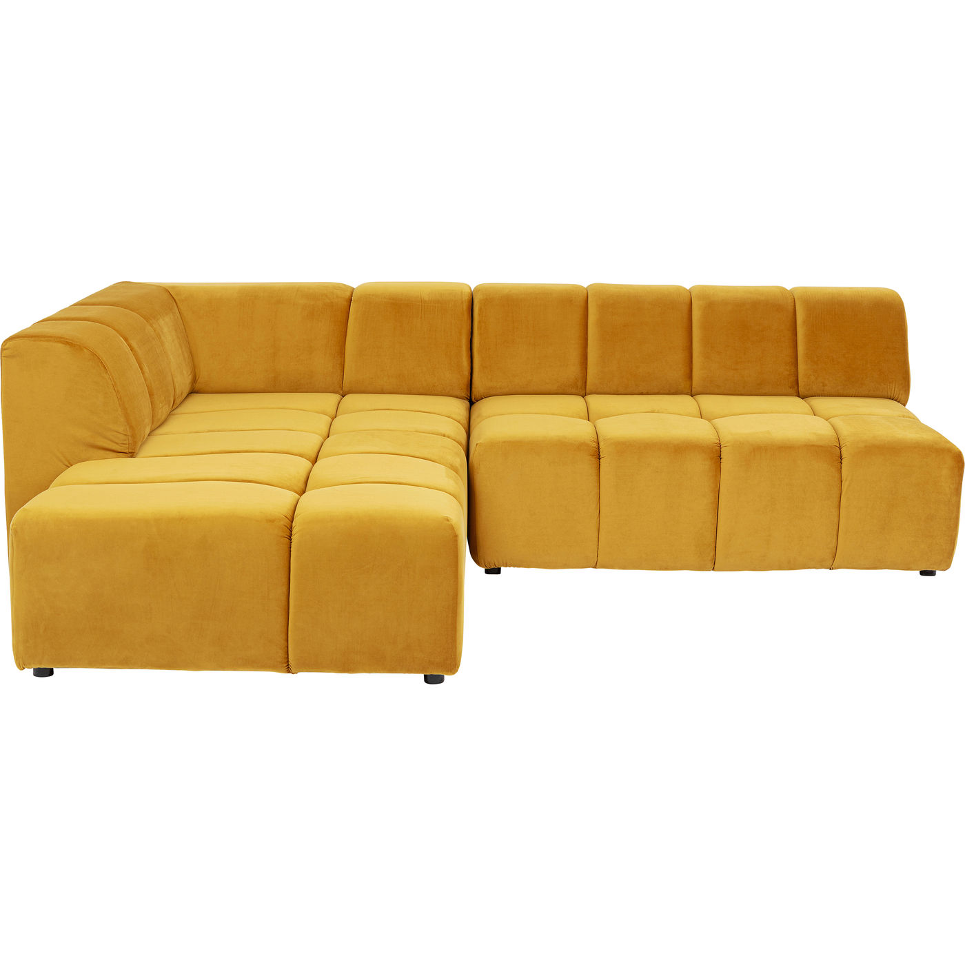 Kare диван угловой bel ami желтый 142211/1