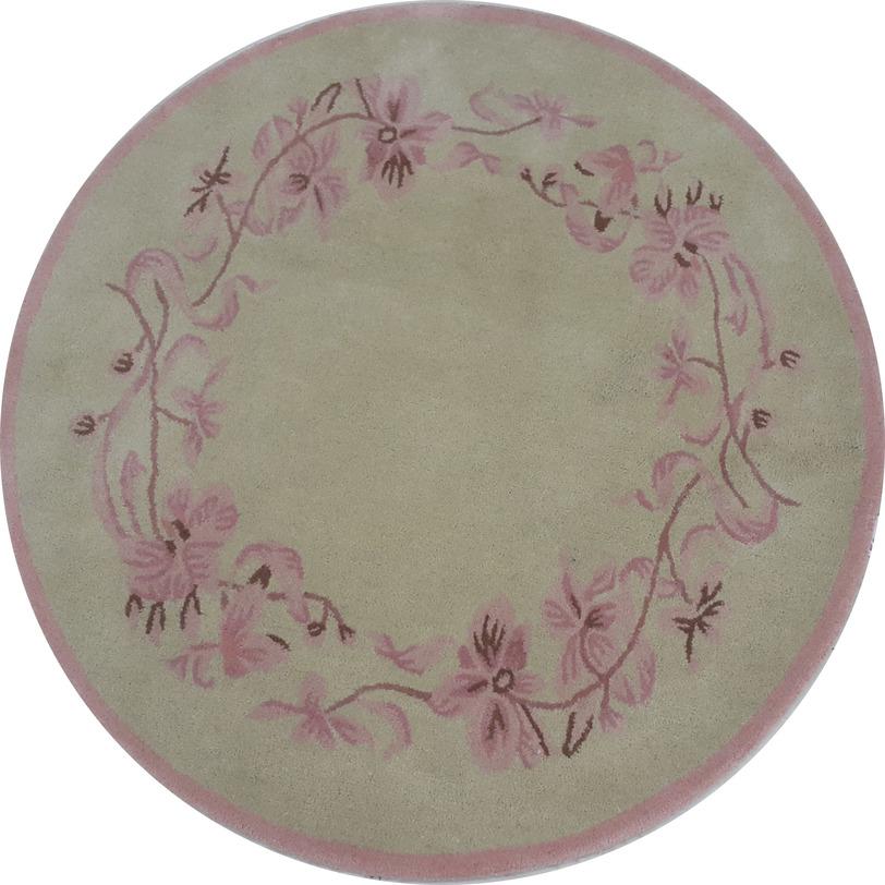 Ковер OrchidКруглые ковры<br>Цветочный орнамент орхидеи украшает ковер по периметру. Ковер прекрасно подходит как в классический, так и в современный интерьер.<br><br>Материал: 100% шерсть (50% новозеландской/50% биканерской шерсти высшей категории)<br>Цвет:фисташковый/палевая роза<br><br>Material: Шерсть<br>Length см: None<br>Width см: None<br>Depth см: None<br>Height см: 1,5<br>Diameter см: 130