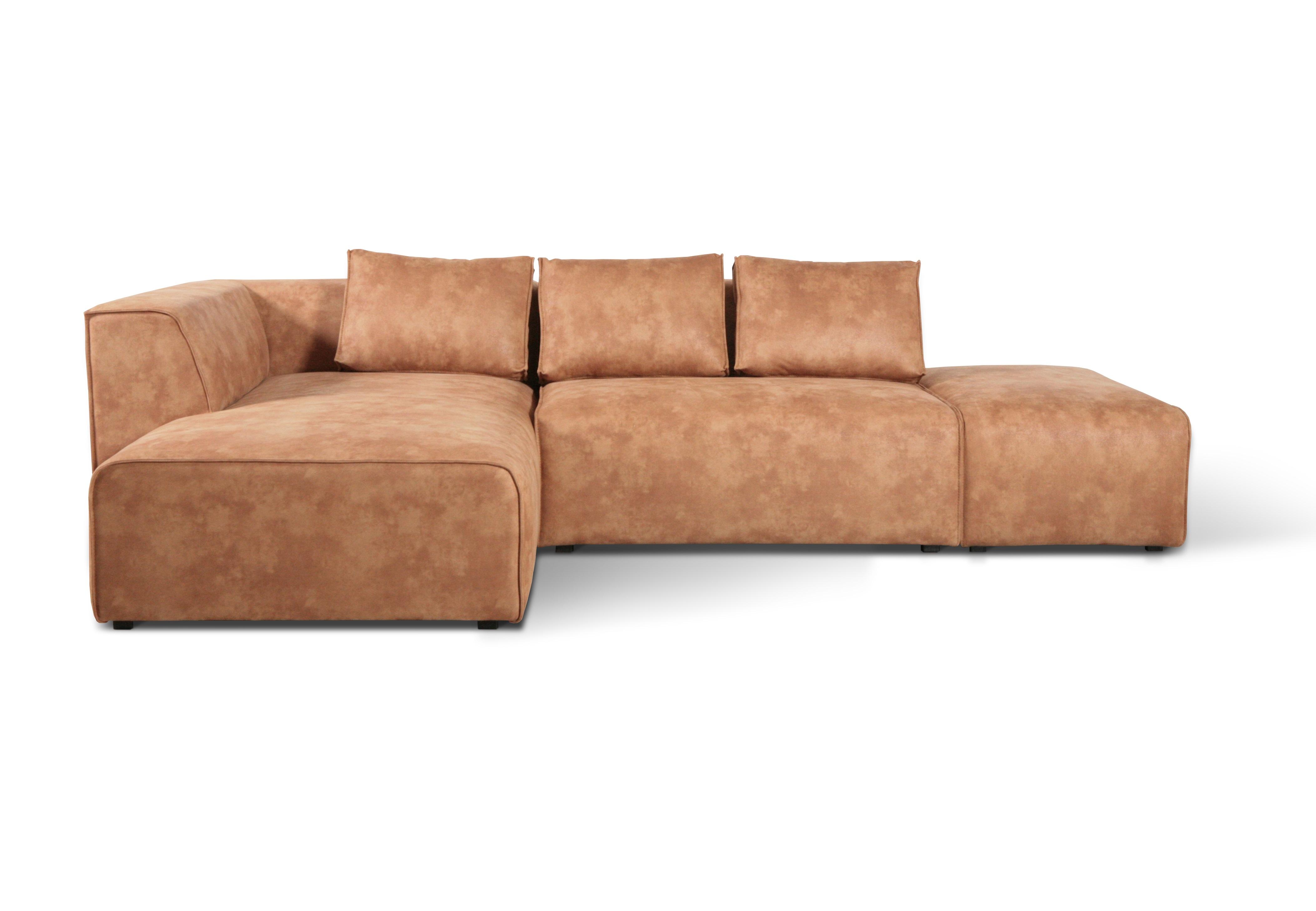 Kare диван угловой industrial loft оранжевый 143332/2