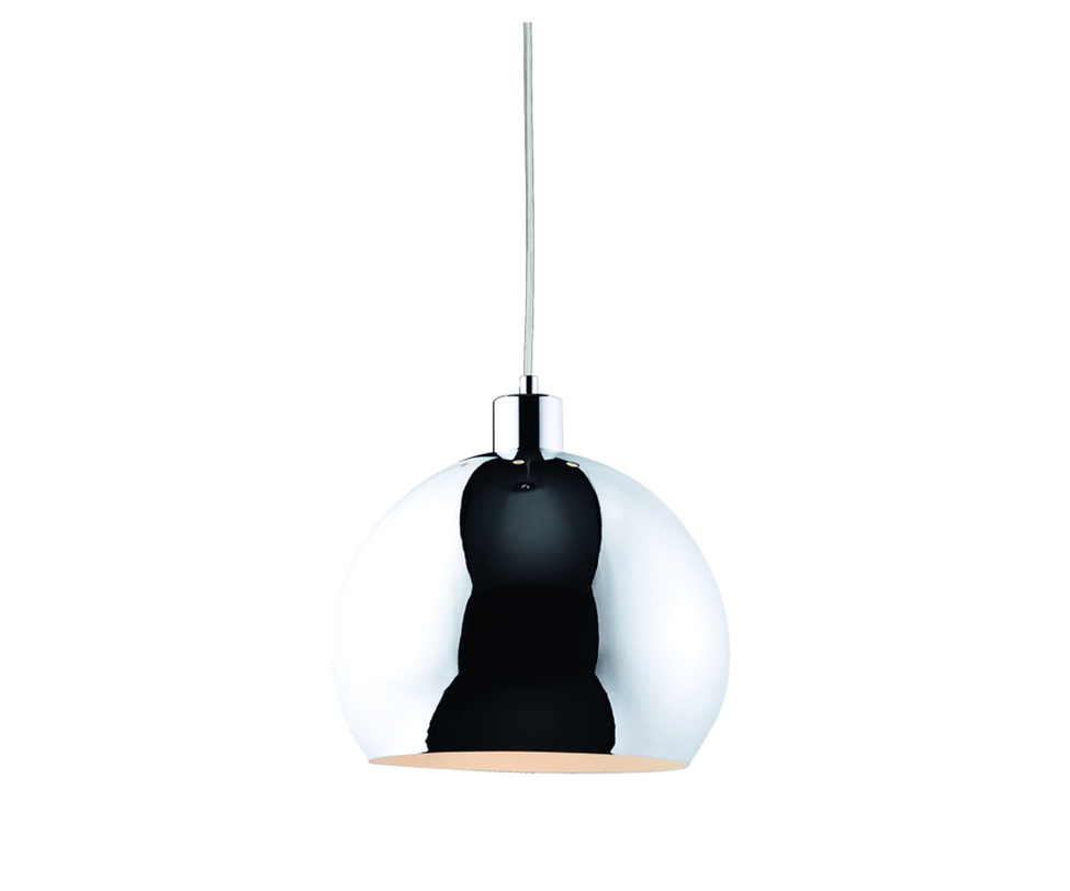 Подвес KanonПодвесные светильники<br>Тип цоколя:E27 1X60W<br>Ламп:E27<br>Цвет: хром<br><br>Material: Металл<br>Length см: None<br>Width см: None<br>Depth см: None<br>Height см: 110.0<br>Diameter см: 28.0