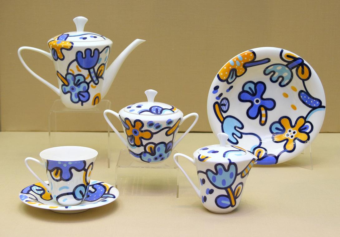 Сервиз чайный Сад