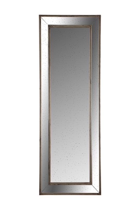 Зеркало настенноеНастенные зеркала<br>Зеркало настенное декоративное с патиной &amp;quot;под старину&amp;quot; с зеркальной патинированной рамой.<br><br>Material: Дерево<br>Length см: None<br>Width см: 62<br>Depth см: None<br>Height см: 180<br>Diameter см: None
