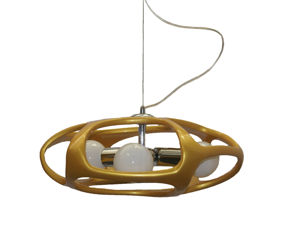 Подвесной светильник ТимошаПодвесные светильники<br>Количество ламп: 3*60w (лампами не комплектуется)<br>Цоколь: E27<br><br>Цвет: золото<br><br>kit: None<br>gender: None