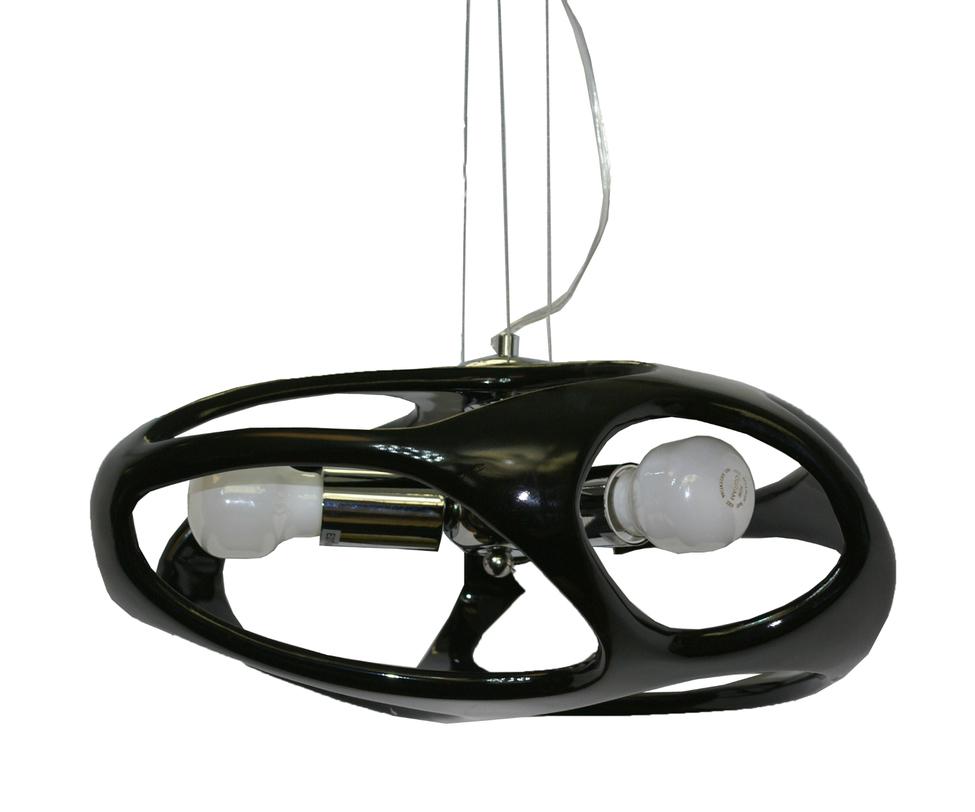 Подвесной светильник ТимошаПодвесные светильники<br>Количество ламп: 3*60w (лампами не комплектуется)<br>Цоколь: E27<br><br>Цвет: черный<br><br>Material: Пластик<br>Length см: None<br>Width см: None<br>Depth см: None<br>Height см: 120<br>Diameter см: 45