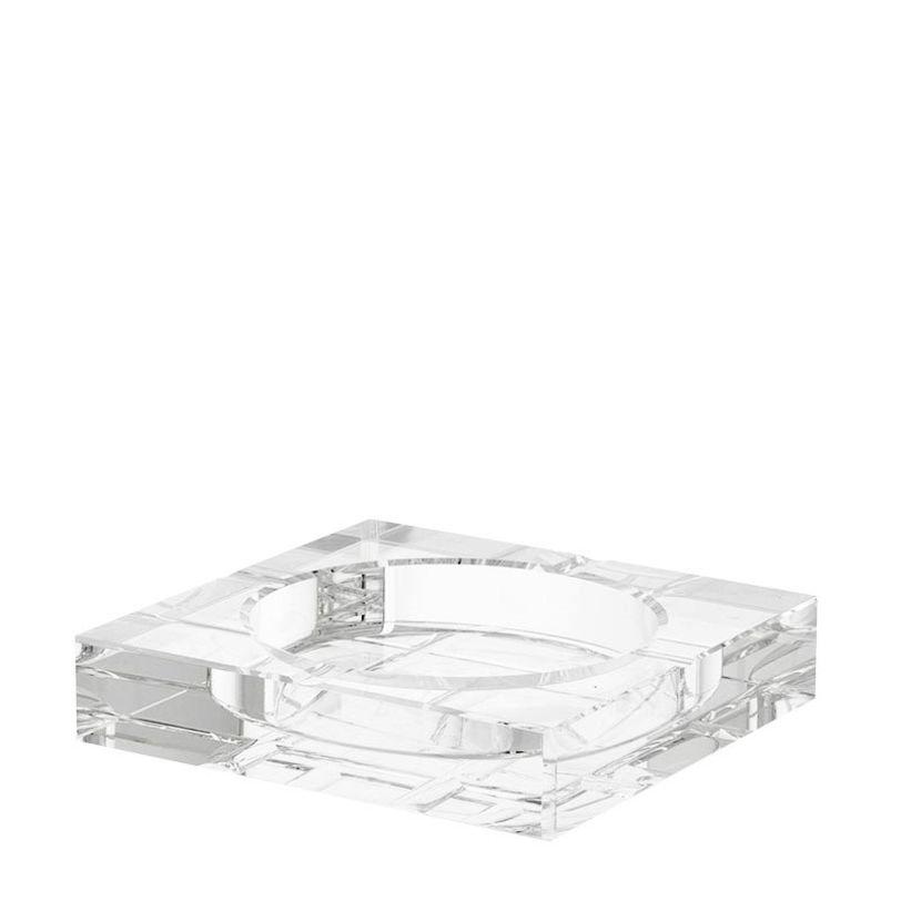 Пепельница Ashtray LedburyДругое<br>Квадратная пепельница с орнаментом выполнена из прозрачного стекла в современном стиле.<br><br>Material: Стекло<br>Ширина см: 15.0<br>Высота см: 3.0<br>Глубина см: 15.0