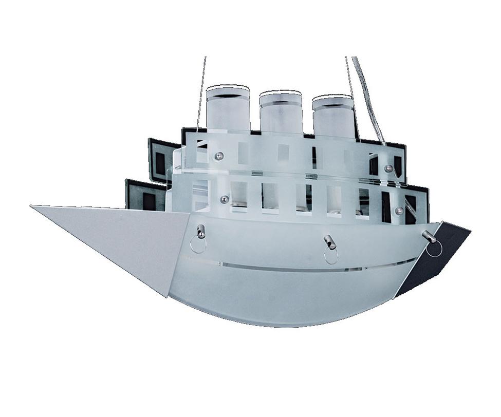 Подвесной светильник КорабльПодвесные светильники<br>Количество ламп: 5<br>Цоколь: E14<br>Мощность: 5*40w<br><br>Material: Пластик<br>Ширина см: 55<br>Высота см: 80<br>Глубина см: 21