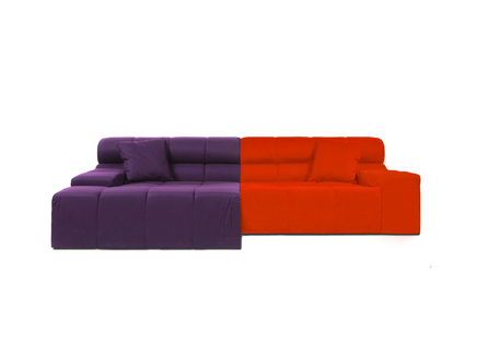 "Диван ""Tufty-Time Sofa Orange-Violet"""