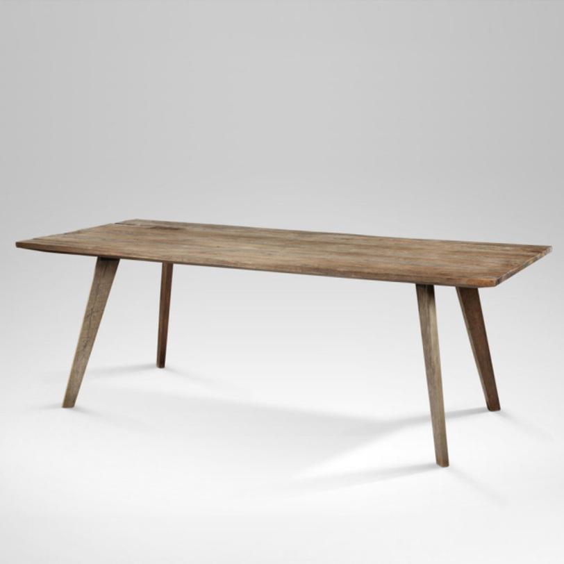 Стол обеденный Flamingo 180Обеденные столы<br>Оригинальный обеденный стол с лаконичным дизайном из драгоценной древесины тика.<br><br>Material: Тик<br>Length см: 180<br>Width см: 90<br>Depth см: None<br>Height см: 78<br>Diameter см: None