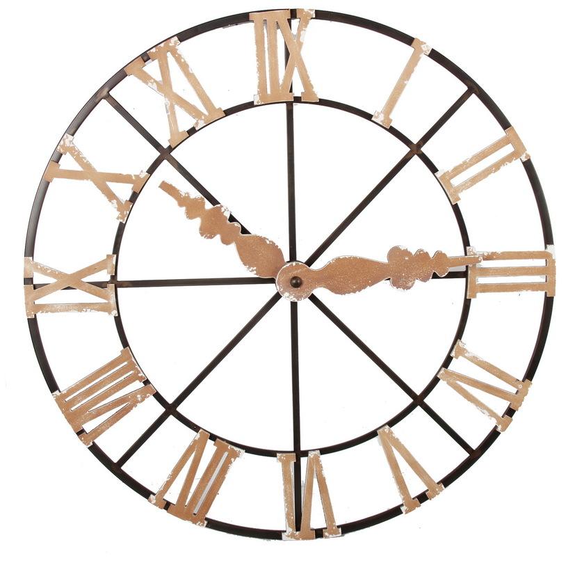 Настенный декор ЧасыДругое<br>Настенный декор в виде часов в винтажном стиле. Не имеет часового механизма. &amp;amp;nbsp;<br><br>Material: Металл<br>Length см: None<br>Width см: None<br>Depth см: 8<br>Height см: None<br>Diameter см: 115