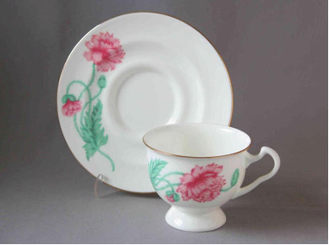 Чайная Чашка с блюдцем Айседора Олимпия