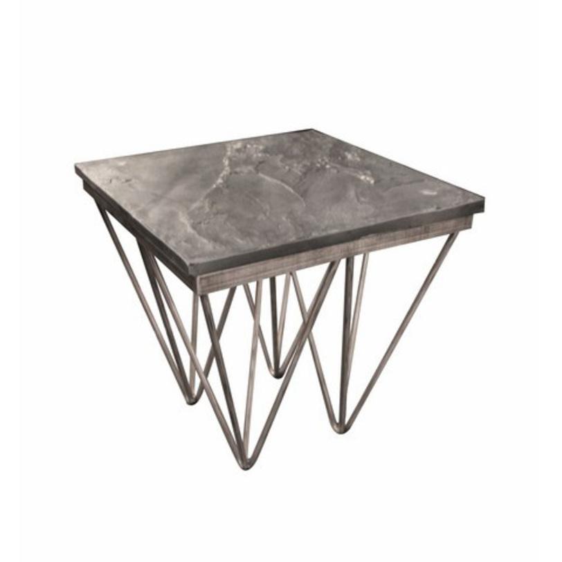 Стол приставной КитоПриставные столики<br>Матриал: металл, искусственный камень<br><br>Material: Металл<br>Length см: 52<br>Width см: 52<br>Depth см: None<br>Height см: 51,3<br>Diameter см: None
