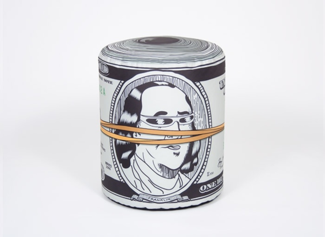 "Пуф ""Dollar"" от The Furnish"