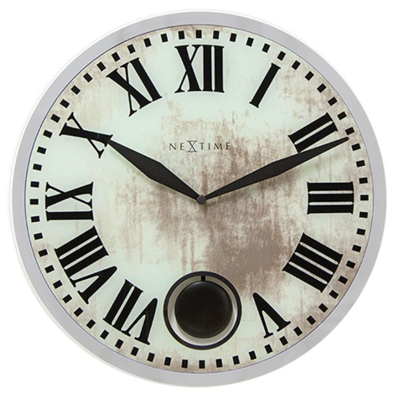 настенные часы с маятником ROMANAНастенные часы<br><br><br>Material: Стекло<br>Length см: None<br>Width см: None<br>Depth см: None<br>Height см: None<br>Diameter см: 43