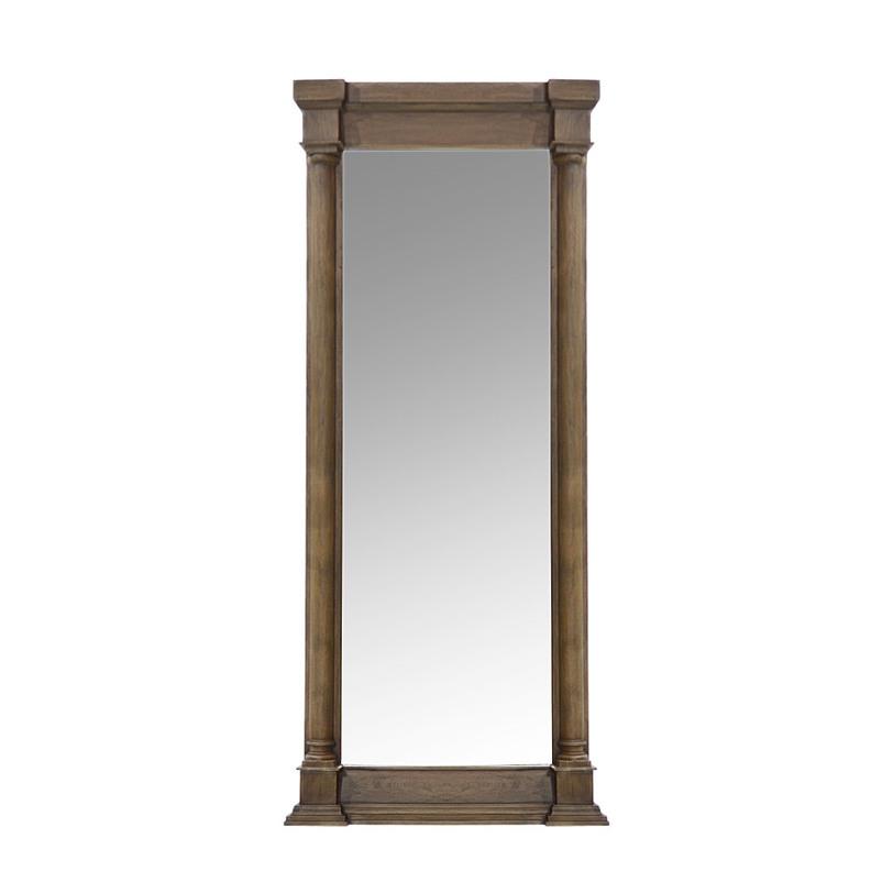 Зеркало DESTINYНастенные зеркала<br>Зеркало Destiny лучше всего будет смотреться в современных индастриал-интерьерах. Имеющее массивную рамку, которая, несмотря на свои размеры, выглядит довольно элегантно, оно отличается особым очарованием. Его зеркалу дарит благородный коричневый цвет натуральной древесины, а также классические детали, являющиеся главными акцентами в числе немногочисленных украшений этого декора.&amp;nbsp;<br><br>kit: None<br>gender: None
