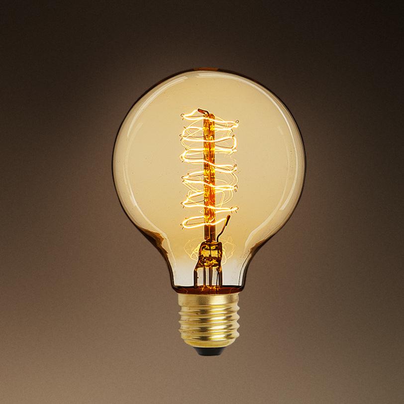 Набор лампочек Bulb GlobeЛампочки<br>Цвет цоколя - античное золото. Лампочки с приятным бежево-золотым свечением.&amp;amp;nbsp;&amp;lt;div&amp;gt;Мощность: 1x 40 Вт<br>Тип лампы: НАКАЛИВАНИЯ, E27&amp;lt;/div&amp;gt;<br><br>Material: Стекло<br>Length см: None<br>Width см: None<br>Depth см: None<br>Height см: 13,5<br>Diameter см: 9,5