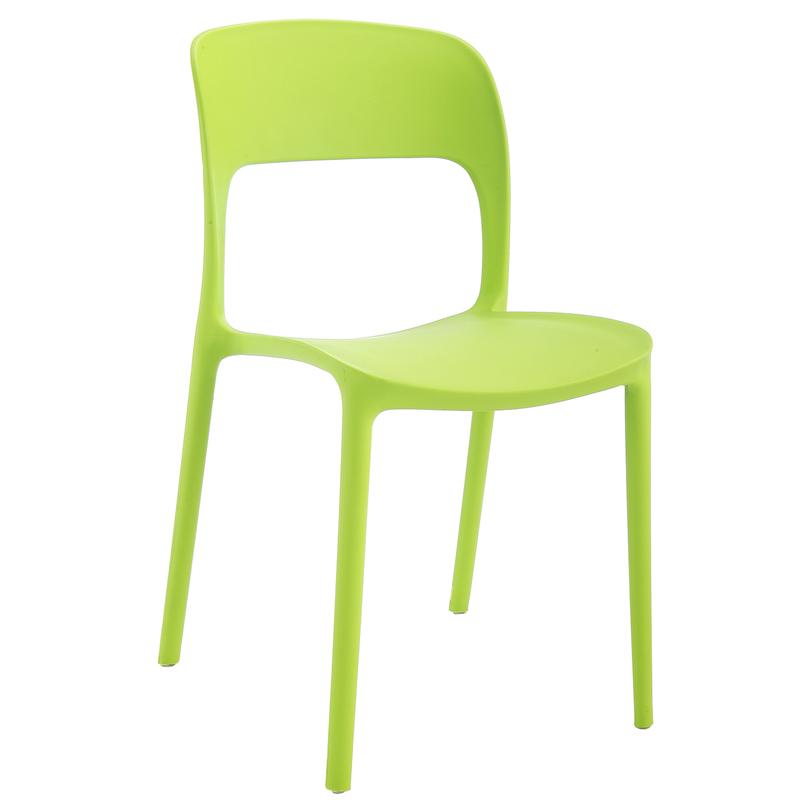 Стул Плавные линииОбеденные стулья<br>Коллекция «Плавные линии» разработана дизайнерами для создания максимального комфорта и удобства, а яркая палитра насыщенных цветов привнесет в обстановку дома живительные нотки и красочную легкость. Расставьте выразительные акценты в вашем интерьере с помощью стильных стульев «Плавные линии».<br><br>Material: Пластик<br>Length см: 54,5<br>Width см: 41<br>Depth см: None<br>Height см: 83,5<br>Diameter см: None