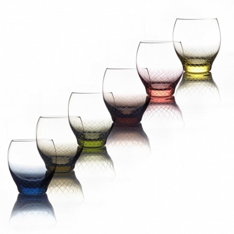 Набор бокалов для воды Sera-IridaБокалы<br>Набор из 6 предметов. Цветной хрусталь, ручное литьё, ручная алмазная гравировка.&amp;amp;nbsp;&amp;lt;div&amp;gt;&amp;lt;br&amp;gt;&amp;lt;/div&amp;gt;&amp;lt;div&amp;gt;Объём бокала 550 мл&amp;lt;/div&amp;gt;<br><br>Material: Хрусталь<br>Length см: None<br>Width см: None<br>Depth см: None<br>Height см: 10.8<br>Diameter см: None