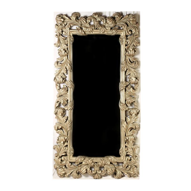 ЗеркалоНастенные зеркала<br>&amp;lt;div&amp;gt;Аксессуар для утонченного французского интерьера, где каждая деталь великолепна сама по себе. Узкое прямоугольное зеркало заключено в небольшой кант, который «обвит» роскошным узором с растительными элементами. Багет кажется объемным благодаря многочисленным завиткам в виде листьев. Декоративная рама выполнена из полиуретана, очень похожего на натуральную древесину. Такой визуальный эффект создан за счет состаренной отделки и золотистого цвета. &amp;amp;nbsp;&amp;amp;nbsp;&amp;lt;br&amp;gt;&amp;lt;/div&amp;gt;&amp;lt;div&amp;gt;&amp;lt;br&amp;gt;&amp;lt;/div&amp;gt;Материал: полиуретан<br><br>Material: Пластик<br>Length см: None<br>Width см: 121<br>Depth см: 11<br>Height см: 229<br>Diameter см: None