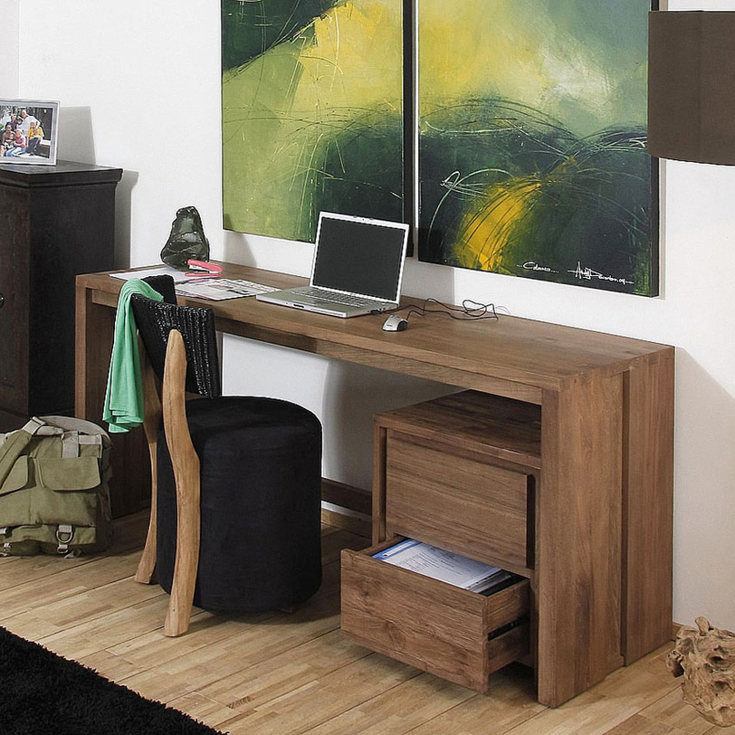 Стол письменный FisaПисьменные столы<br><br><br>Material: Тик<br>Length см: None<br>Width см: 120<br>Depth см: 60<br>Height см: 78<br>Diameter см: None