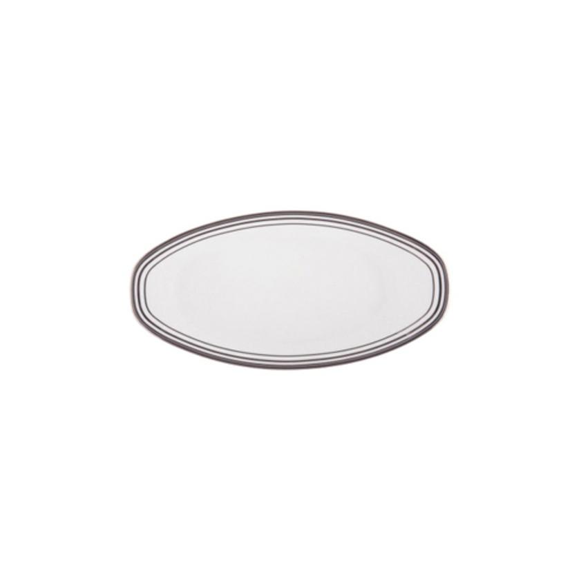 Блюдо для закусокДекоративные блюда<br>MIKASA по праву считается одним из мировых лидеров по производству столовой посуды из фарфора и керамики. На протяжении более полувека категории качества и дизайна являются неотъемлемой частью бренда MIKASA. Сегодня MIKASA сотрудничает со многими известными дизайнерами, работающими для лучших фабрик мира, и использует самые передовые технологии в производстве посуды.<br><br>Material: Фарфор<br>Length см: 22<br>Width см: None<br>Depth см: None<br>Height см: None<br>Diameter см: None