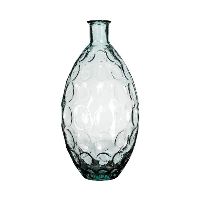 Ваза ДюнаВазы<br>San Miguel (Испания) – это мощнейшая компания, которая занимается производством очень качественной и оригинальной продукции из переработанного стекла. Vidrios San Miguel известный бренд во всем мире. В наши дни, Vidrios San Miguel имеет более чем 25 000 торговых точек. Vidrios San Miguel занимается производством стеклянных изделий: посуда, бутылки, вазы, сувениры, украшения и многое другое. Основной экспорт происходит в страны: западной и восточной Европы, Америки, Азии и Африки.<br><br>Material: Стекло<br>Length см: None<br>Width см: None<br>Depth см: None<br>Height см: 59<br>Diameter см: 28