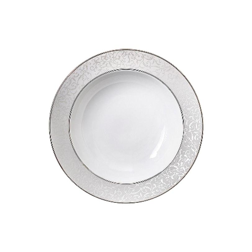 БлюдоДекоративные блюда<br>MIKASA по праву считается одним из мировых лидеров по производству столовой посуды из фарфора и керамики. На протяжении более полувека категории качества и дизайна являются неотъемлемой частью бренда MIKASA. Сегодня MIKASA сотрудничает со многими известными дизайнерами, работающими для лучших фабрик мира, и использует самые передовые технологии в производстве посуды. Все продукты бренда MIKASA безупречны с точки зрения дизайна и исполнения.<br><br>Material: Фарфор<br>Length см: None<br>Width см: None<br>Depth см: None<br>Height см: None<br>Diameter см: 24