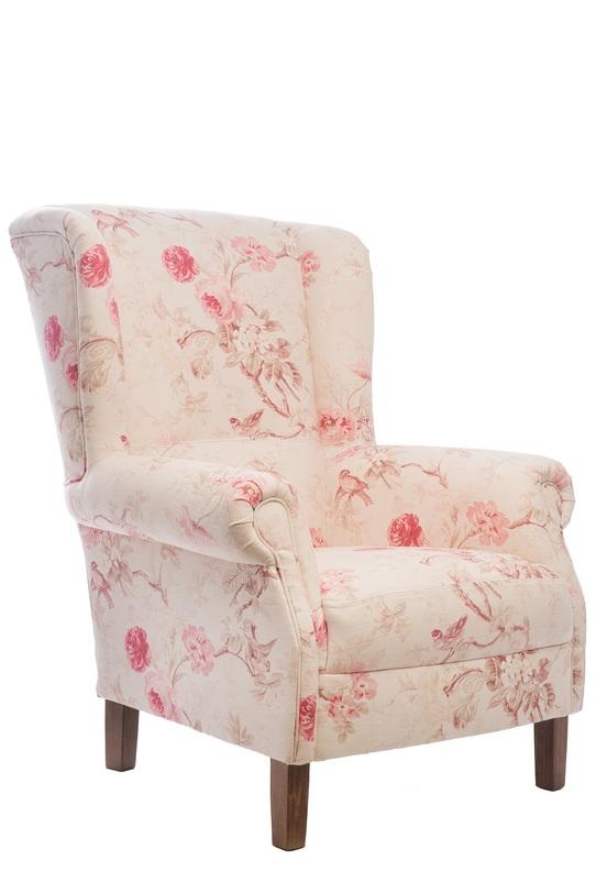 Кресло ShannonКресла с высокой спинкой<br>А в вашем доме есть уютное местечко, в котором вы можете добиться абсолютной релаксации? Это удобное вольтеровское кресло будет выигрышно смотреться как в нежно оформленной детской, так и в любой другой комнате. Это кресло просто идеально для отдыха у камина: оно хорошо сохраняет тепло, плюс защищает от искр. Кресло не только уютное и удобное ,но и еще совершенно романтичное.<br><br>Каркас: хвойные породы дерева.<br>Обивка: 75%хлопок, 25%лен<br>Наполнитель: высокоэластичный ППУ.<br>Ножки: хвойные породы.<br><br>Material: Текстиль<br>Length см: 101<br>Width см: 82<br>Depth см: None<br>Height см: 93<br>Diameter см: None