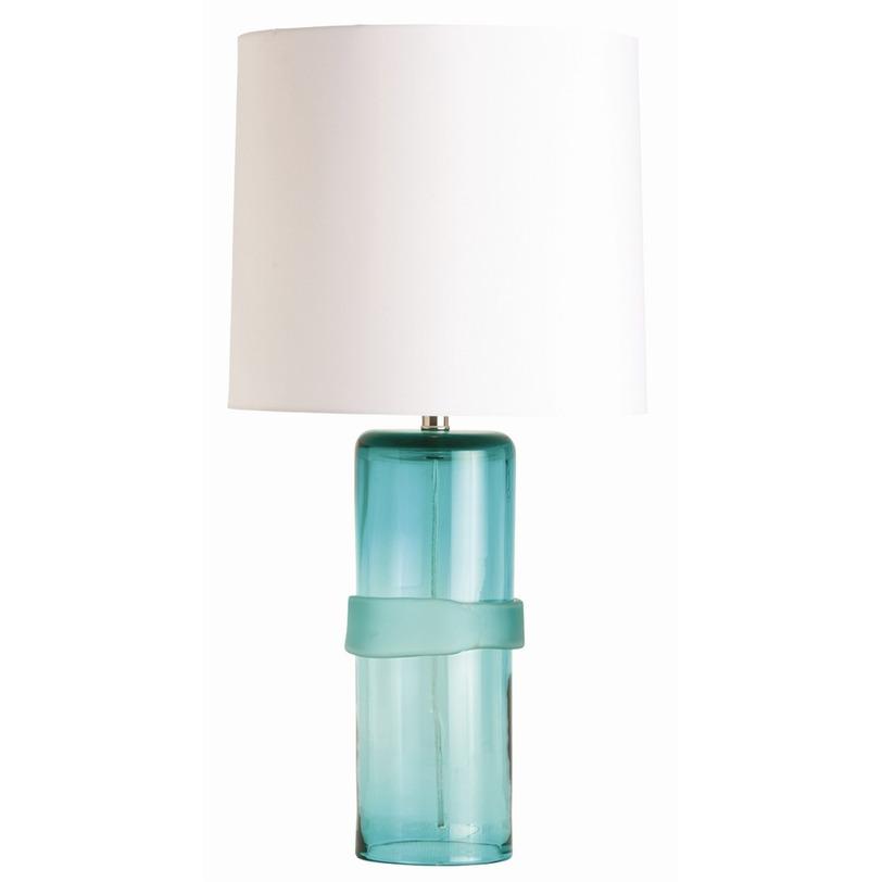 Настольная лампа Topher LampДекоративные лампы<br>Полупрозрачные морские камни, привезенные из далеких путешествий, радуют глаз и пробуждают теплые воспоминания о лете. Каркас лампы&amp;amp;nbsp;&amp;quot;Topher Lamp&amp;quot;, будто обточенный океанскими волнами, по виду напоминает морское стекло. Голубой цвет в сочетании с белым абажуром рождает еще больше ассоциаций с водной стихией. Такая настольная лампа превосходно будет гармонировать с тематическими интерьерами спален и гостиных.&amp;lt;div&amp;gt;&amp;lt;br&amp;gt;&amp;lt;/div&amp;gt;&amp;lt;div&amp;gt;&amp;lt;div&amp;gt;&amp;lt;span style=&amp;quot;line-height: 1.78571429;&amp;quot;&amp;gt;Количество лампочек: 1&amp;lt;/span&amp;gt;&amp;lt;/div&amp;gt;&amp;lt;div&amp;gt;&amp;lt;span style=&amp;quot;line-height: 1.78571429;&amp;quot;&amp;gt;Мощность: 60 Вт&amp;lt;/span&amp;gt;&amp;lt;/div&amp;gt;&amp;lt;div&amp;gt;&amp;lt;span style=&amp;quot;line-height: 1.78571429;&amp;quot;&amp;gt;Тип цоколя: E27&amp;lt;/span&amp;gt;&amp;lt;/div&amp;gt;&amp;lt;/div&amp;gt;<br><br>Material: Текстиль<br>Высота см: 76