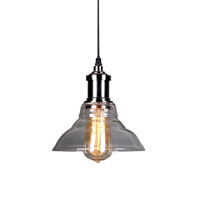 Светильник Loppy Small Ceiling LampПодвесные светильники<br>Интересный абажур, выполненный из стекла, делает конструкцию лампы &amp;quot;Loppy Small Ceiling Lamp&amp;quot; более сложной и нетривиальной. Он привносит в ее текстуру больше многогранной притягательности гранжа. Весь вид миниатюрной потолочной лампы напоминает об эстетике промышленного стиля, зародившегося в Америке в середине 70-х годов минувшего столетия.&amp;lt;div&amp;gt;&amp;lt;br&amp;gt;&amp;lt;/div&amp;gt;&amp;lt;div&amp;gt;&amp;lt;div&amp;gt;Количество лампочек: 1&amp;lt;/div&amp;gt;&amp;lt;div&amp;gt;Мощность: 1 x 60 Вт&amp;lt;/div&amp;gt;&amp;lt;div&amp;gt;Тип цоколя: E27&amp;lt;/div&amp;gt;&amp;lt;/div&amp;gt;<br><br>Material: Стекло<br>Length см: None<br>Width см: None<br>Depth см: None<br>Height см: 130<br>Diameter см: 20