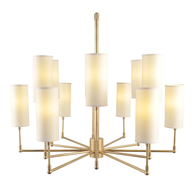 Люстра Clarence ChandelierЛюстры на штанге<br>&amp;lt;div&amp;gt;Роскошная люстра &amp;quot;Clarence Chandelier&amp;quot; с 12 лампами озарит пространство ярким светом истинной элегантности. Ее уникальный дизайн, где ретро-стиль встречается с нестандартным индастриал-оформлением, покорит любителей эклектики. Латунный каркас, имеющий благородный золотой цвет, добавит люстре гламурный шик и сделает ее многогранный облик еще более интересным.&amp;lt;/div&amp;gt;&amp;lt;div&amp;gt;&amp;lt;br&amp;gt;&amp;lt;/div&amp;gt;&amp;lt;div&amp;gt;Вид цоколя: E27&amp;lt;/div&amp;gt;&amp;lt;div&amp;gt;Мощность: &amp;amp;nbsp;40W&amp;lt;/div&amp;gt;&amp;lt;div&amp;gt;Количество ламп: 12 (нет в комплекте)&amp;lt;/div&amp;gt;<br><br>Material: Латунь<br>Length см: None<br>Width см: None<br>Depth см: None<br>Height см: 120<br>Diameter см: 95