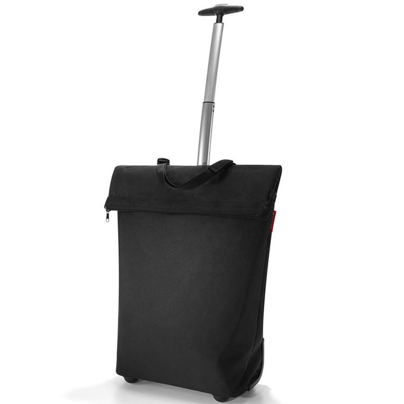 Сумка-тележка Trolley m blackСумки<br>Необычная сумка, которая при желании увеличивается и становится сумкой-тележкой. Удобна для походов в магазин, поездок и переноски большого количества вещей.<br>Телескопическая ручка с двумя степенями сложения легко прячется в специальный карман на молнии. В дополнение к этому сзади есть карман на молнии для мелочей. Большое внутреннее отделение с объмом 43 литра.<br><br>Material: Текстиль<br>Ширина см: 43.0<br>Высота см: 53.0<br>Глубина см: 21.0