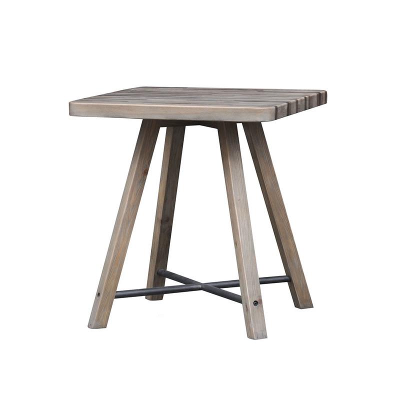 Стол РестоКофейные столики<br>&amp;lt;p class=&amp;quot;MsoNormal&amp;quot;&amp;gt;Милый кофейный столик &amp;quot;Ресто&amp;quot; отличается<br>минималистичным дизайном. В его оформлении угадывается стиль рустик,<br>дополненный некоторыми интересными деталями industrial. Классическое сочетание<br>металла и благородной древесины делает его элегантным. При всей своей<br>изысканности кофейный стол не лишен некой брутальности, выраженной в строгой<br>геометрии линий.&amp;lt;o:p&amp;gt;&amp;lt;/o:p&amp;gt;&amp;lt;/p&amp;gt;<br><br>Material: Дерево<br>Length см: 70<br>Width см: 70<br>Depth см: None<br>Height см: 78<br>Diameter см: None