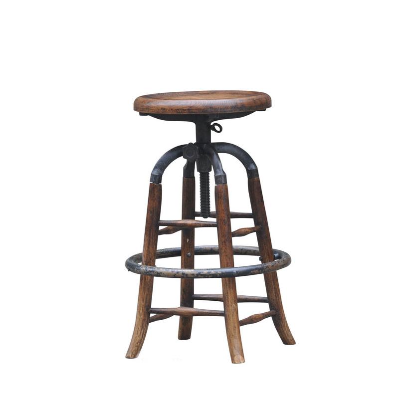 Стул барныйБарные стулья<br>Высота регулируется: 66-78 см<br><br>Material: Дерево<br>Length см: None<br>Width см: None<br>Depth см: None<br>Height см: 78<br>Diameter см: 35