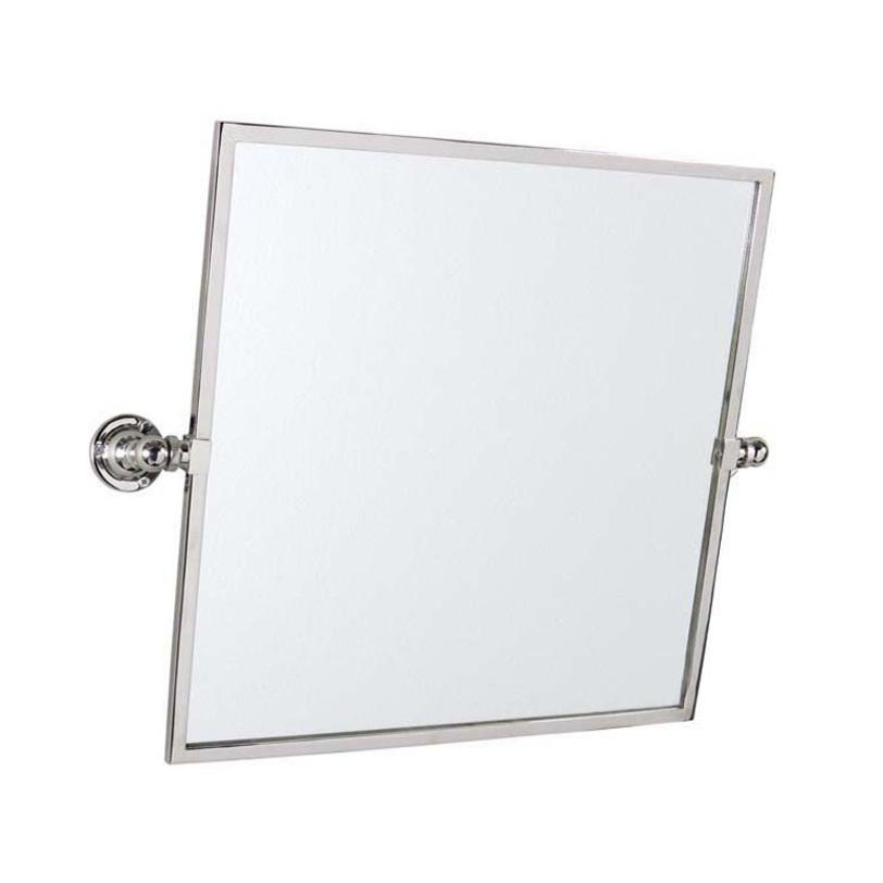 ЗеркалоНастенные зеркала<br>Большое, удобное зеркало от голландского бренда Eichholtz с простым, лаконичным дизайном. Отражающая поверхность на шарнирах вращается относительно горизонтальной оси. Практичное решение для ванной или гардеробной комнаты: поворачивая зеркало, можно увидеть себя в полный рост.<br><br>Material: Металл<br>Length см: 45<br>Width см: None<br>Depth см: 7<br>Height см: 45<br>Diameter см: None