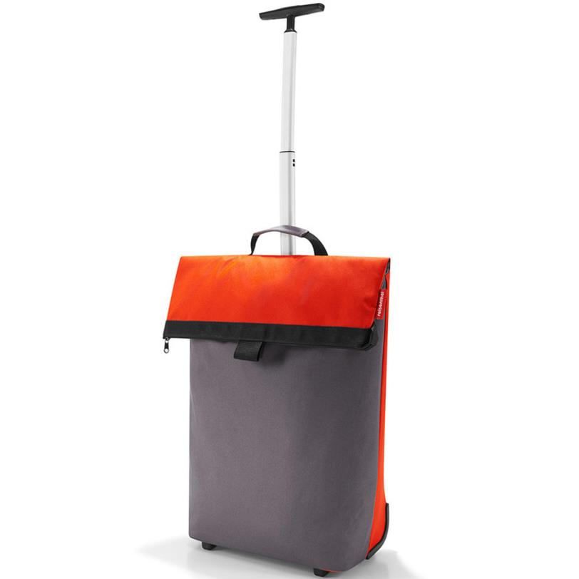 Сумка-тележка Trolley m mandarinСумки<br>Необычная сумка, которая при желании увеличивается и становится сумкой-тележкой. Удобна для походов в магазин, поездок и переноски большого количества вещей.<br>Телескопическая ручка с двумя степенями сложения легко прячется в специальный карман на молнии. В дополнение к этому сзади есть карман на молнии для мелочей. Большое внутреннее отделение с объмом 43 литра.<br><br>Material: Текстиль<br>Length см: 43<br>Width см: 21<br>Depth см: None<br>Height см: 53<br>Diameter см: None