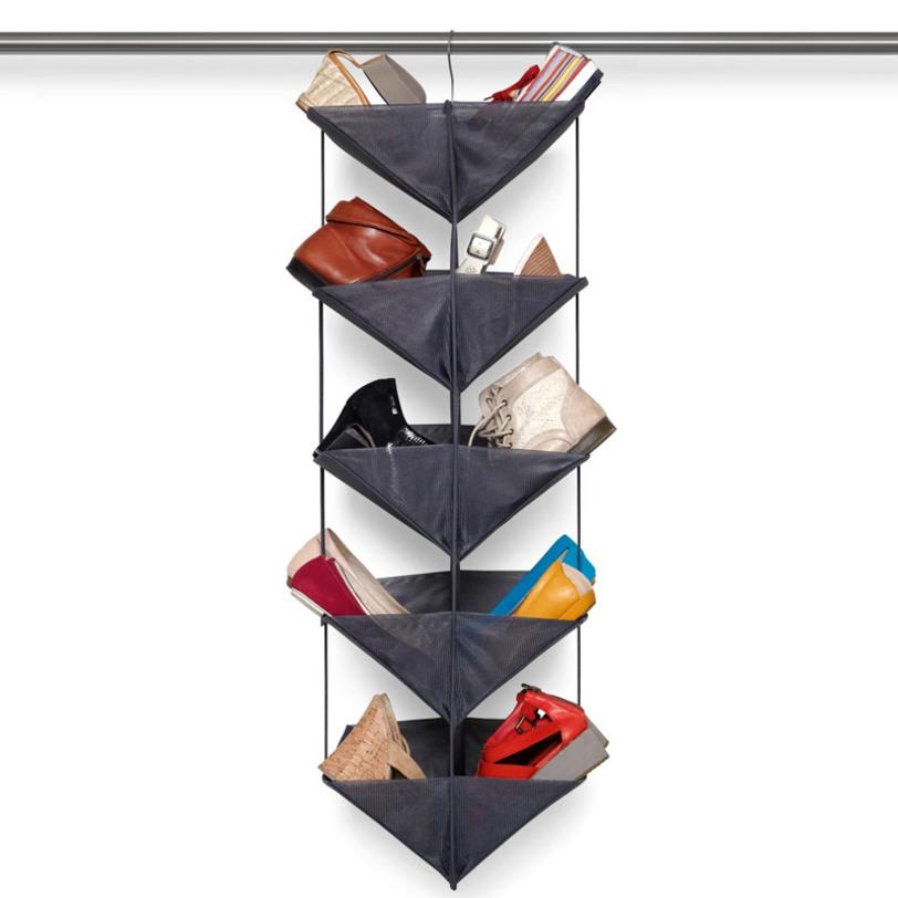 Органайзер для обуви EnfoldОбувницы<br>Десять карманов для всего на свете: органайзер вместит в себя обувь, сумки, полотенца, постельное белье, книги, журналы – в общем, что угодно. Отлично подойдет для шкафа в коридоре, собрав вещи, которые вы носите постоянно. Или для шкафа в спальне, где его можно заполнить обувью, которая пригодится на следующий сезон. Вешается на штангу для вешалок.<br><br>Material: Текстиль<br>Length см: 35<br>Width см: 35<br>Depth см: None<br>Height см: 113<br>Diameter см: None