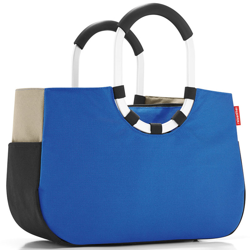 "Reisenthel Сумка ""Loopshopper m patchwork royal blue"""
