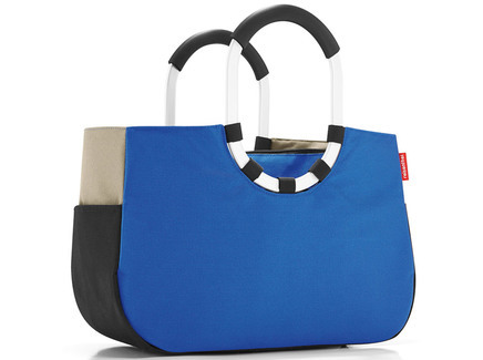 Loopshopper m patchwork royal blue Reisenthel