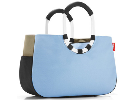 Loopshopper m patchwork pastel blue Reisenthel