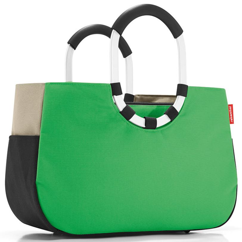 """Сумка """"Loopshopper m patchwork green"""""""