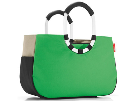 Loopshopper m patchwork green Reisenthel